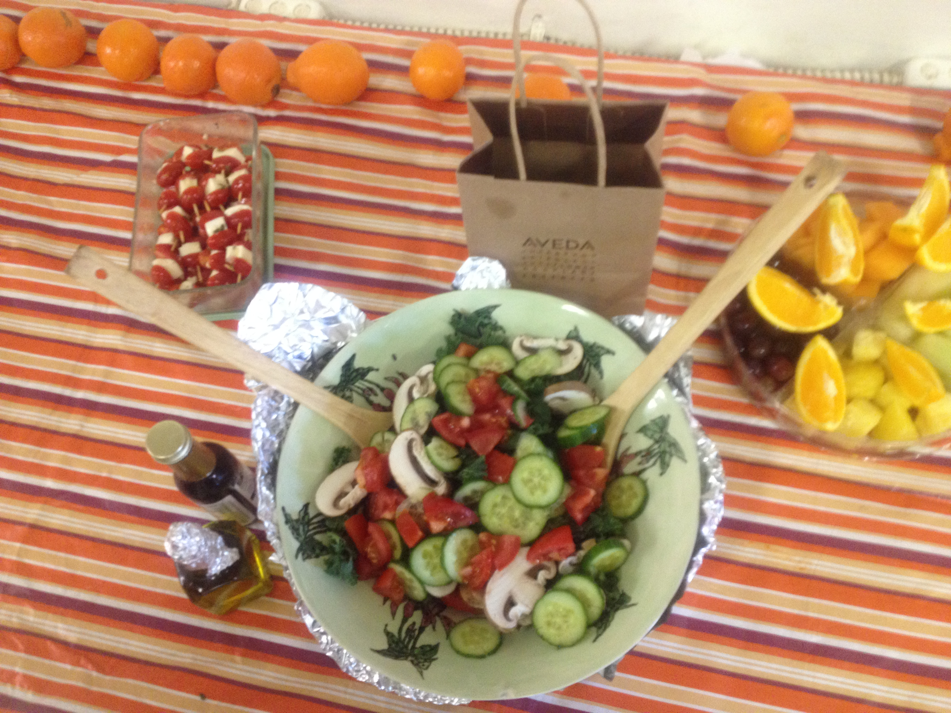 Salad At Potluck on March 20th