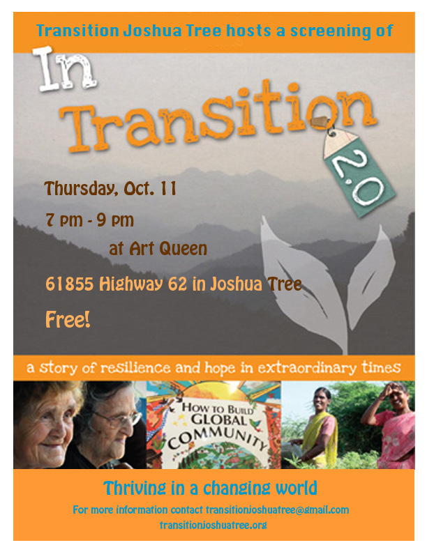in transition flyer