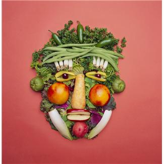 vegetable-face