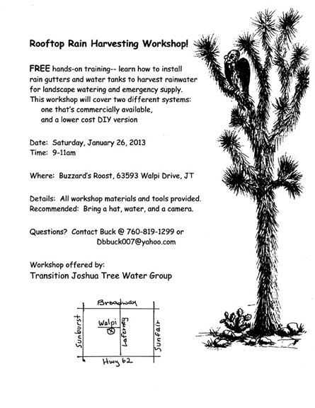 Final Rain Harvesting Workshop Flyersm